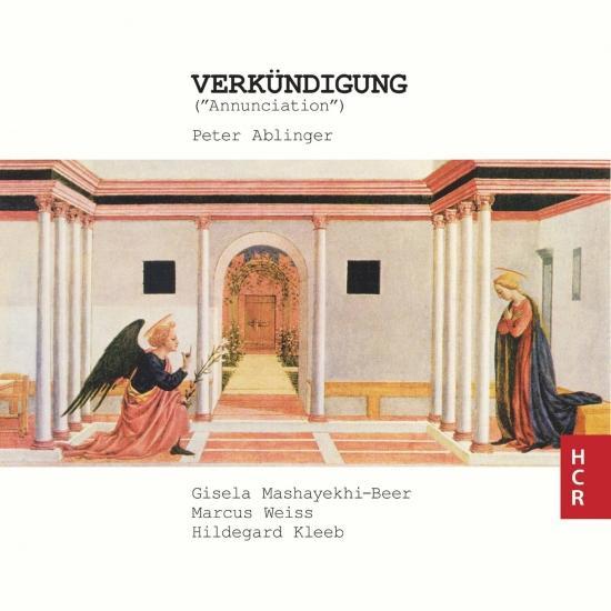Cover Peter Ablinger: Verkündigung