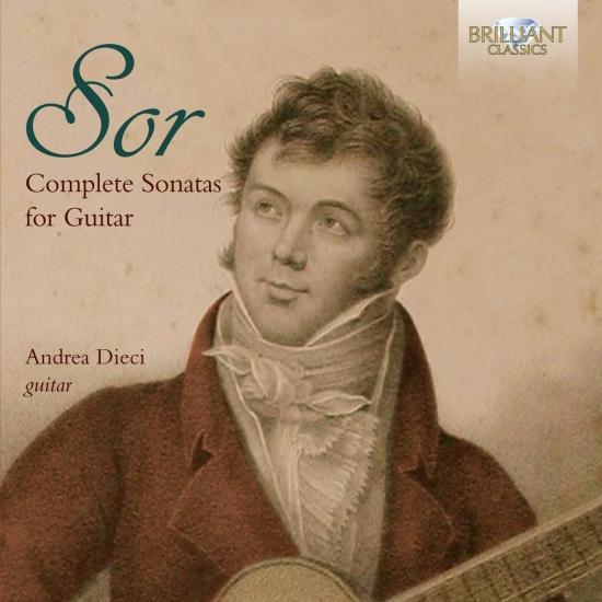 Cover Sor: Complete Sonatas for Guitar