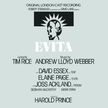 Cover Evita: Original London Cast Recording (Remastered)