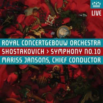 Cover Shostakovich: Symphony No. 10 (Live)