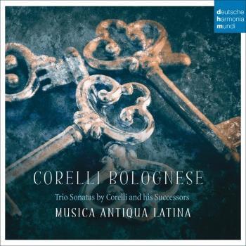 Cover Corelli Bolognese - Trio Sonatas by Corelli and his Successors