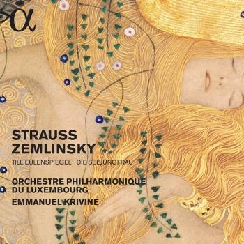 Cover R. Strauss: Till Eulenspiegels lustige Streiche - Zemlinsky: Die Seejungfrau
