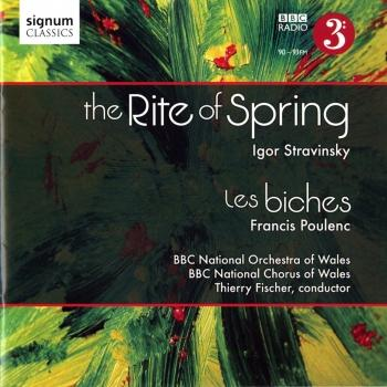 Cover Stravinsky: The Rite of Spring - Poulenc: Les Biches
