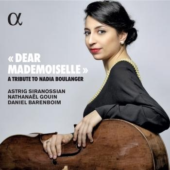 Cover Dear Mademoiselle - A Tribute to Nadia Boulanger
