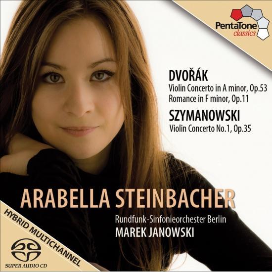 Cover Szymanowski, K.: Violin Concerto No. 1 / Dvorak, A.: Violin Concerto / Romance