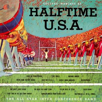 Cover All Star Interconference Band Halftime U.S.A. (Remastered from the Original Alshire Tapes)