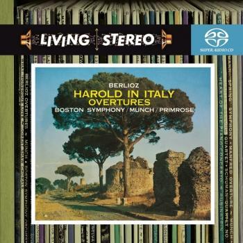 Cover Berlioz: Harold in Italy / The Roman Carnival Overture / Benvenuto Cellini Overture / Le Corsaire Overture / Beatrice et Benedict Overture