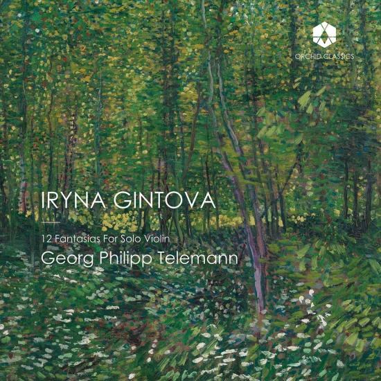 Cover Telemann: 12 Fantasias for Solo Violin, TWV 40:14-25