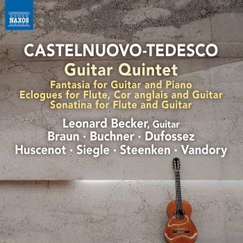 Cover Mario Castelnuovo-Tedesco: Chamber Works