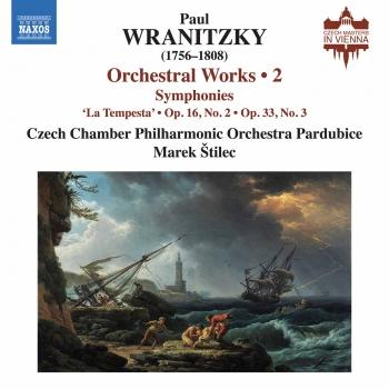 Cover Wranitzky: Orchestral Works, Vol. 2
