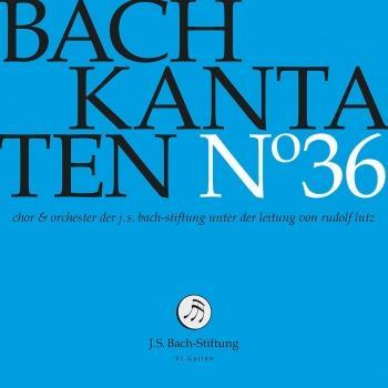 Cover J.S. Bach: Cantatas, Vol. 36 (Live)
