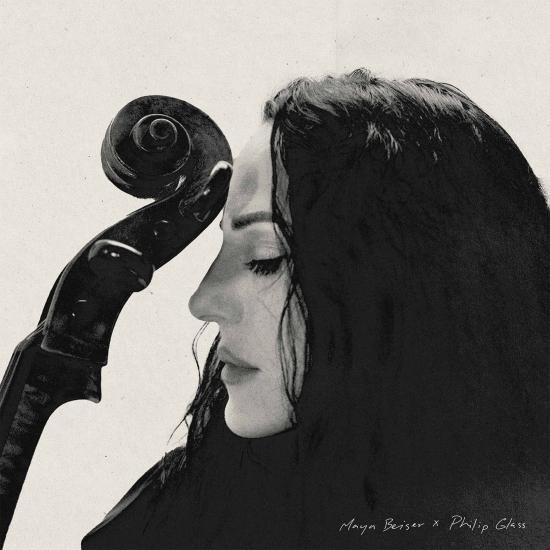 Cover Maya Beiser x Philip Glass