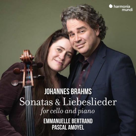 Cover Johannes Brahms: Sonatas & Liebeslieder for Cello and Piano (Bonus Track Version)