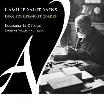 Cover Camille Saint-Saëns: Duos pour piano et cordes