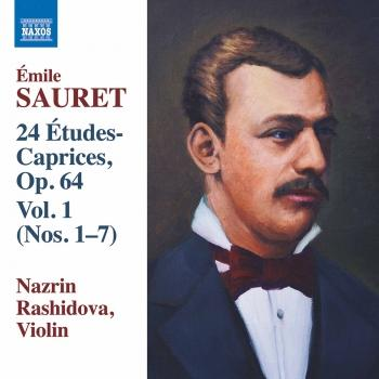 Cover Sauret: 24 Études Caprices, Vol. 1