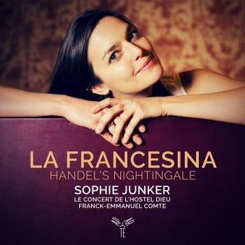 Cover La Francesina, Handel's nightingale