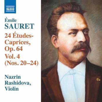Cover Sauret: 24 Études-caprices, Vol. 4