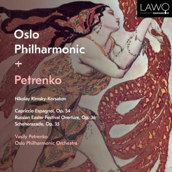 Cover Nikolay Rimsky-Korsakov: Capriccio Espagnol, Op. 34, Russian Easter Festival Overture, Op. 36 & Scheherazade, Op. 35