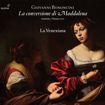 Cover Bononcini: La conversione di Maddalena