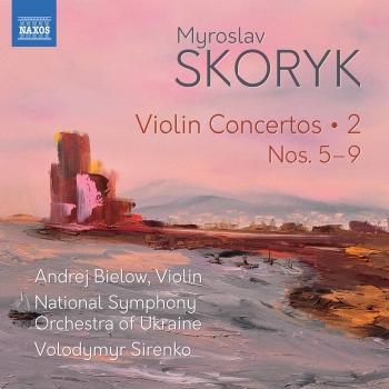 Cover Skoryk: Complete Violin Concertos, Vol. 2
