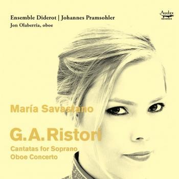 Cover G.A. Ristori: Cantatas for Soprano & Oboe concerto