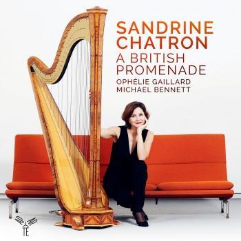 """Cover Sandrine Chatron """"A British Promenade"""""""