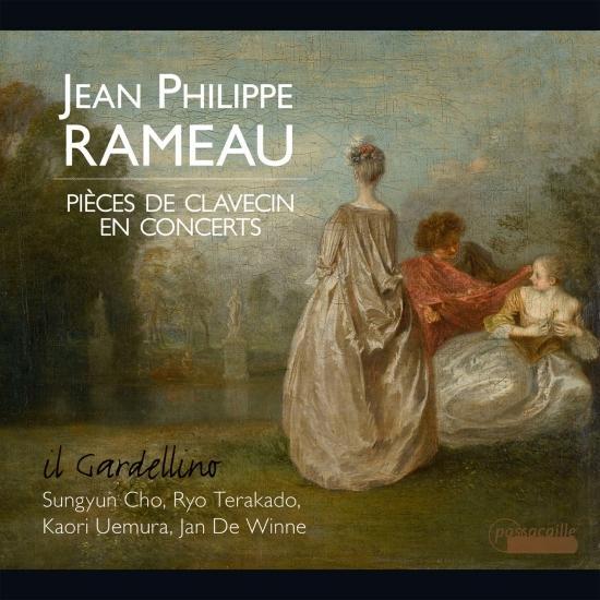 Cover Rameau: Pièces de Clavecin en Concerts