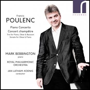 Cover Poulenc: Piano Concerto & Concert champêtre