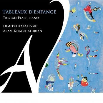 Cover Tableaux d'enfance