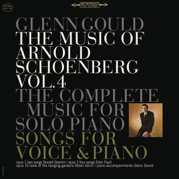Cover The Music of Arnold Schönberg: Songs and Works for Piano Solo (Remastered)