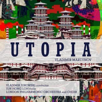 Cover Vladimir Martynov: Utopia