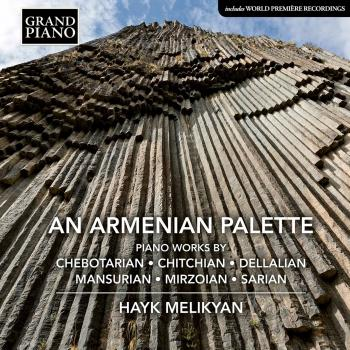 Cover An Armenian Palette