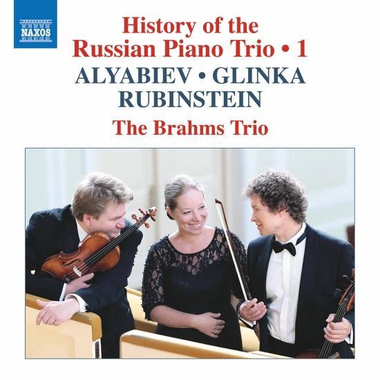 Cover History of the Russian Piano Trio, Vol. 1