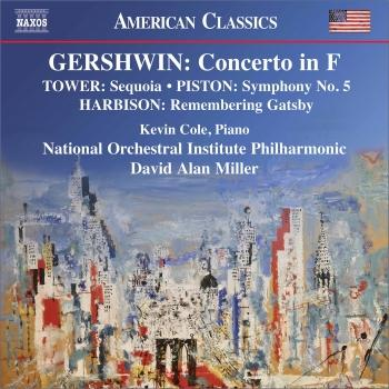 Cover Gershwin, Harbison, Tower & Piston: Orchestral Works