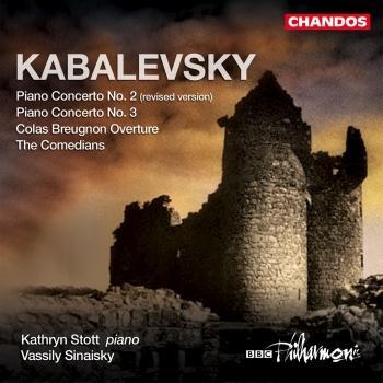 Cover Kabalevsky: Piano Concertos, Vol. 1