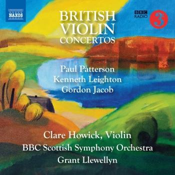 Cover British Violin Concertos