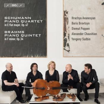 Cover Schumann: Piano Quartet, Op. 47 - Brahms: Piano Quintet, Op. 34
