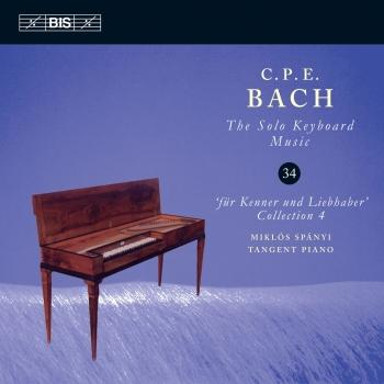 Cover C.P.E. Bach: The Solo Keyboard Music, Vol. 34