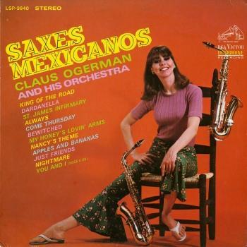 Cover Saxes Mexicanos (Remaster)