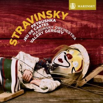 Cover Stravinsky: Petrushka, Jeu de cartes
