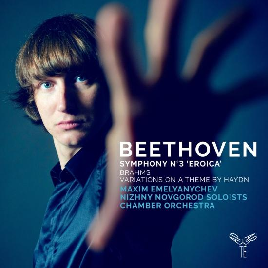 Cover Beethoven: Symphony No. 3 - Brahms: Variations on a Theme by Haydn