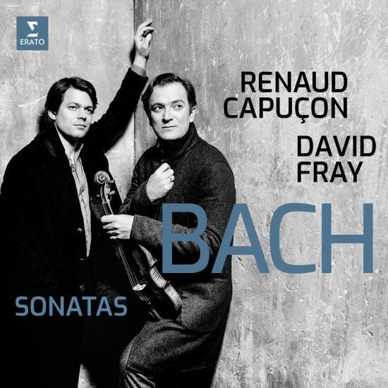 Cover Bach: Sonatas for Violin & Keyboard Nos 3-6