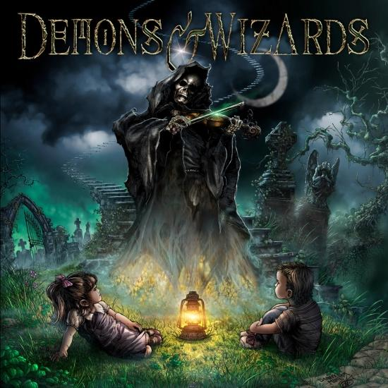 Cover Demons & Wizards 2019 (Remastered)