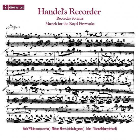 Cover Handel's Recorder
