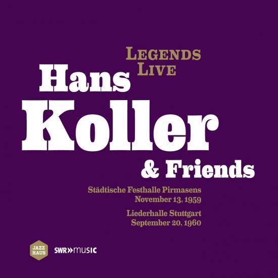 Cover Hans Koller Brass Ensemble - Legends Live Hans Koller & Friends