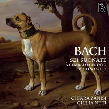 Cover Bach: 6 Sonatas for Violin & Harpsichord