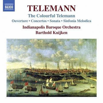 Cover The Colorful Telemann