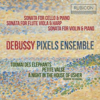 Cover Debussy: Sonatas & Piano Works