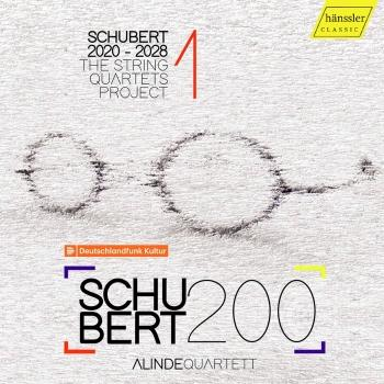 Cover Schubert 2020-2028: The String Quartets Project, Vol. 1