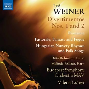 Cover Weiner: Complete Orchestral Works, Vol. 3
